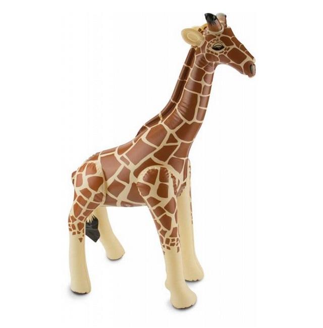 Opblaas giraffe