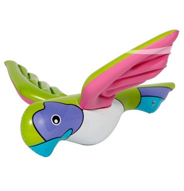 Opblaas papegaai klein
