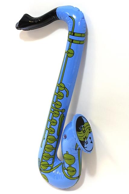 Opblaas saxofoon kleur - Groen