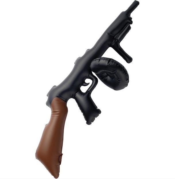 Opblaas tommy gun