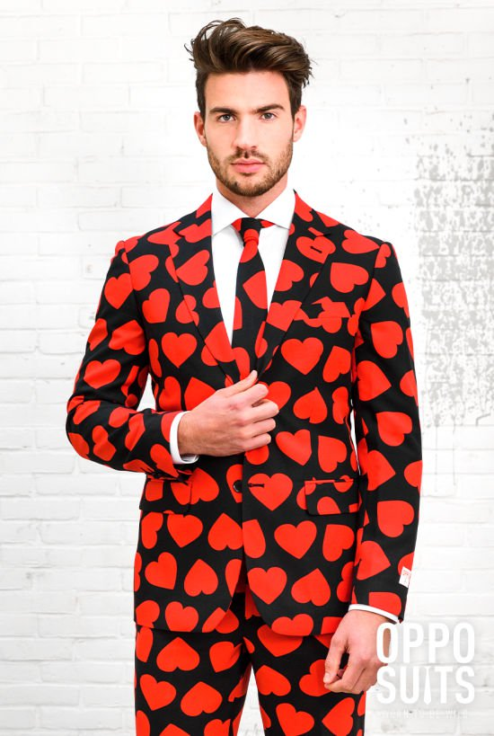 Opposuit King of hearts VERHUUR