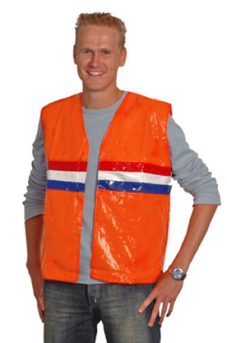 Oranje vest glimmend normaal 9,95