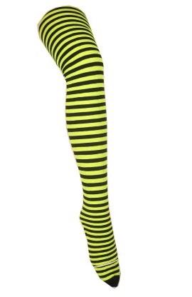 Panty streep geel