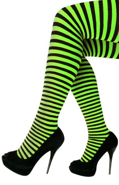Panty streep groen