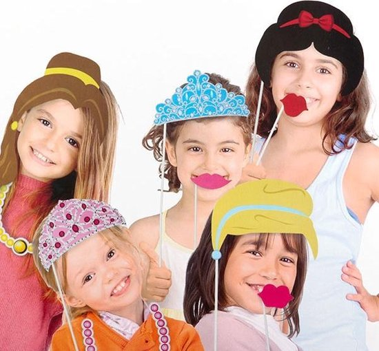 Photo booth props prinses