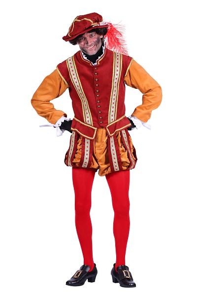 Piet kostuum Amsterdam middelbruin-oker - M