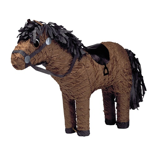 Pinata paard bruin