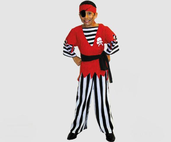 Piraat met streepbroek - 128