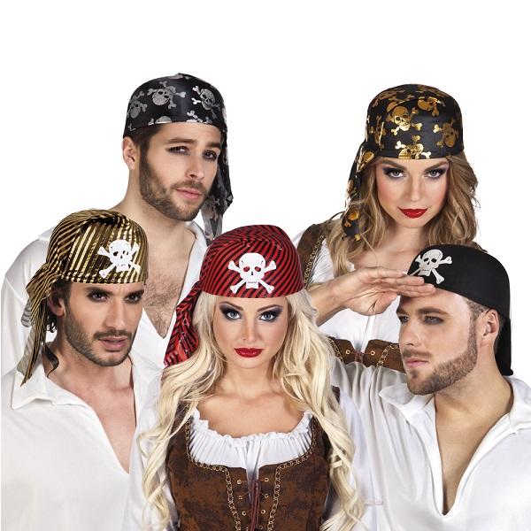 Piraten hoofddoek  ass