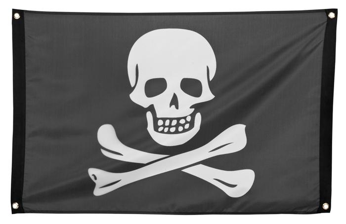 Piratenvlag groot