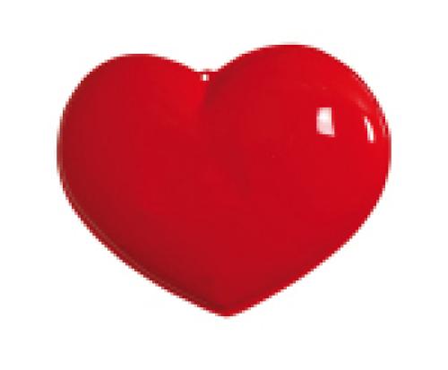 Plastic hart groot