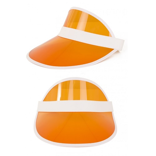 Poker viser zonneklep oranje