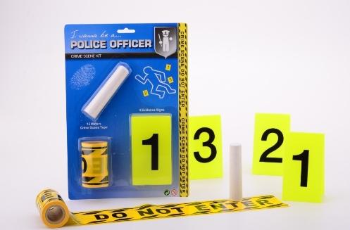 Politie Crime Scene set