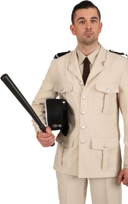 Politie gummiknuppel groot