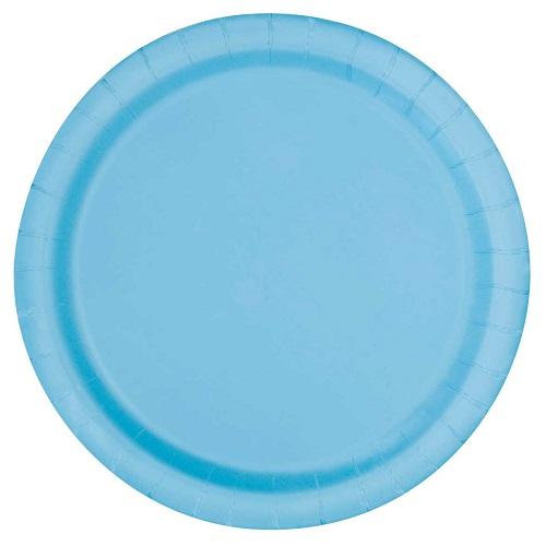 Powder blue bordjes 16st
