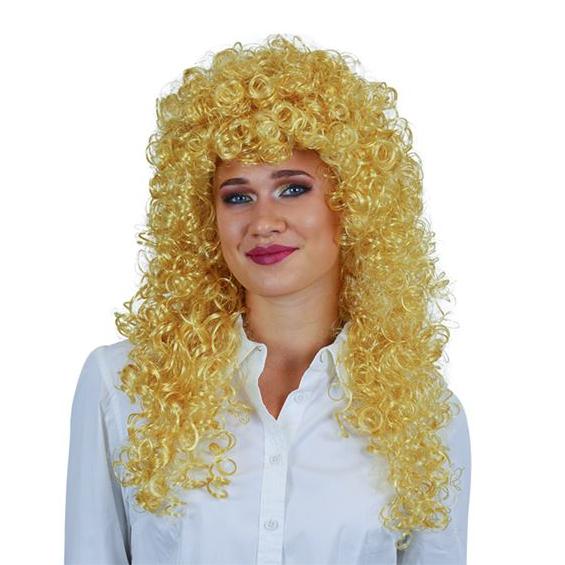Pruik Katja blond