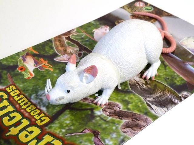 Rat rubber eenvoudig - wit of zwart