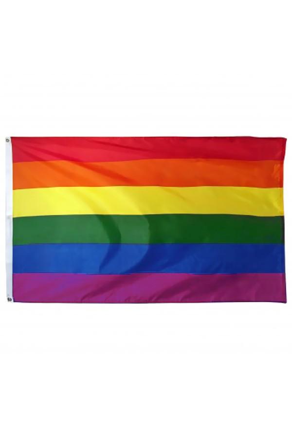 Regenboog vlag 150/90cm