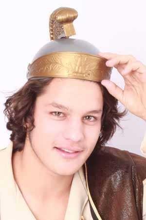 Romeinse ridder helm volwassen