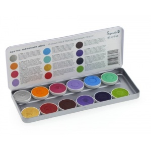 Schmink palet Syllie faces 12 kleuren