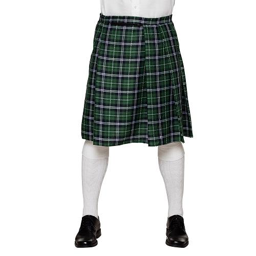 Schotse kilt groen
