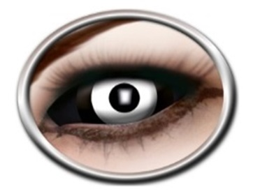Sclera lenzen Black white center