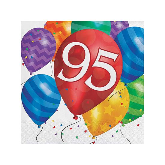 Servetten 95 balloons 16st