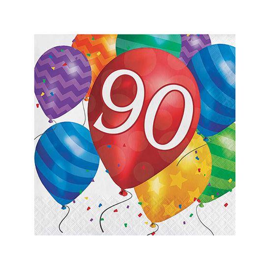 Servetten balloons 90 16st