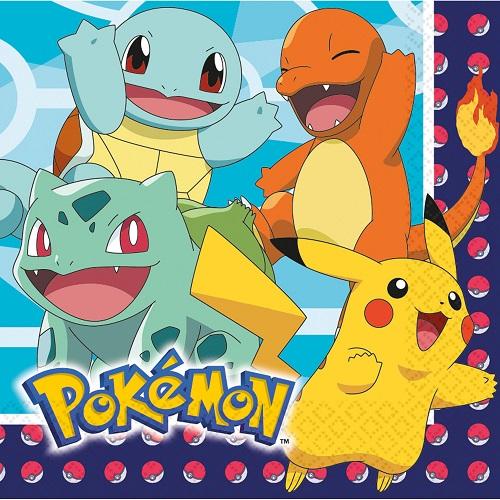 Servetten Pokemon 16st