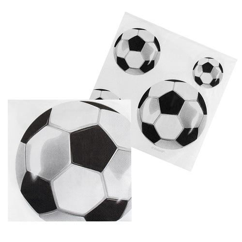 Servetten voetbal 12 stuks