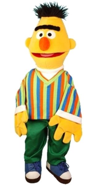 Sesamstraat Bert groot 85cm