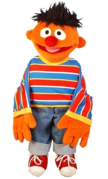 Sesamstraat Ernie groot 75cm