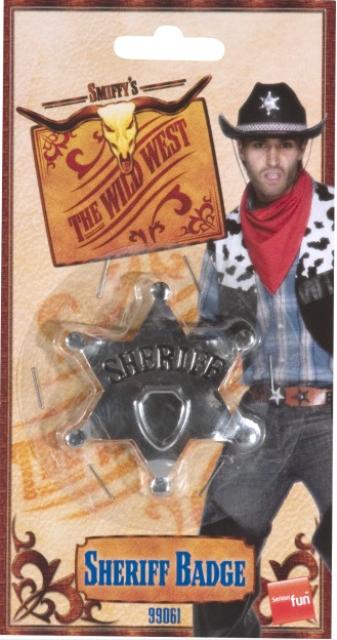 Sheriff ster metaal
