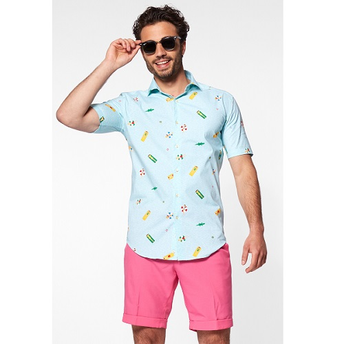 Shirt Short Sleeve Pool Life - M