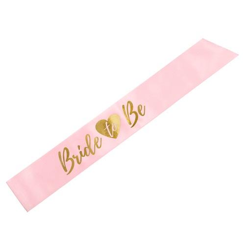 Sjerp bride to be roze