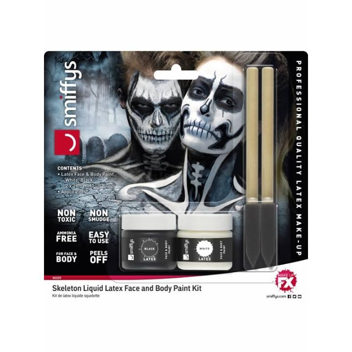 Skeleton liquid latex set
