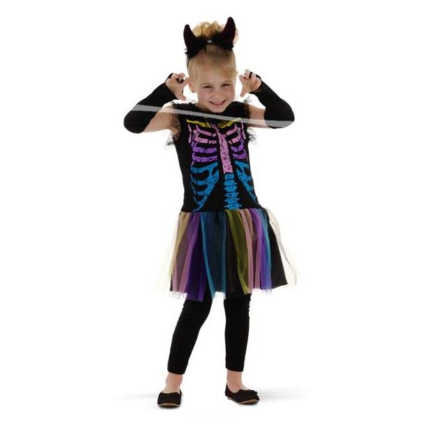 Skeleton princess jurkje