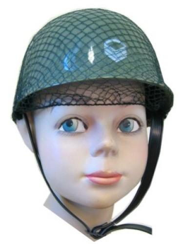 Soldaten helm plastic kind
