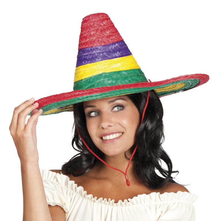 Sombrero Puebla kleur