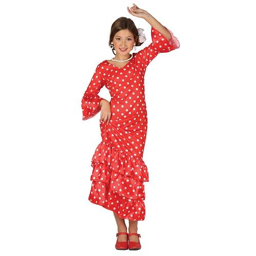 Spaanse jurk Andalusie - 10-12 jaar