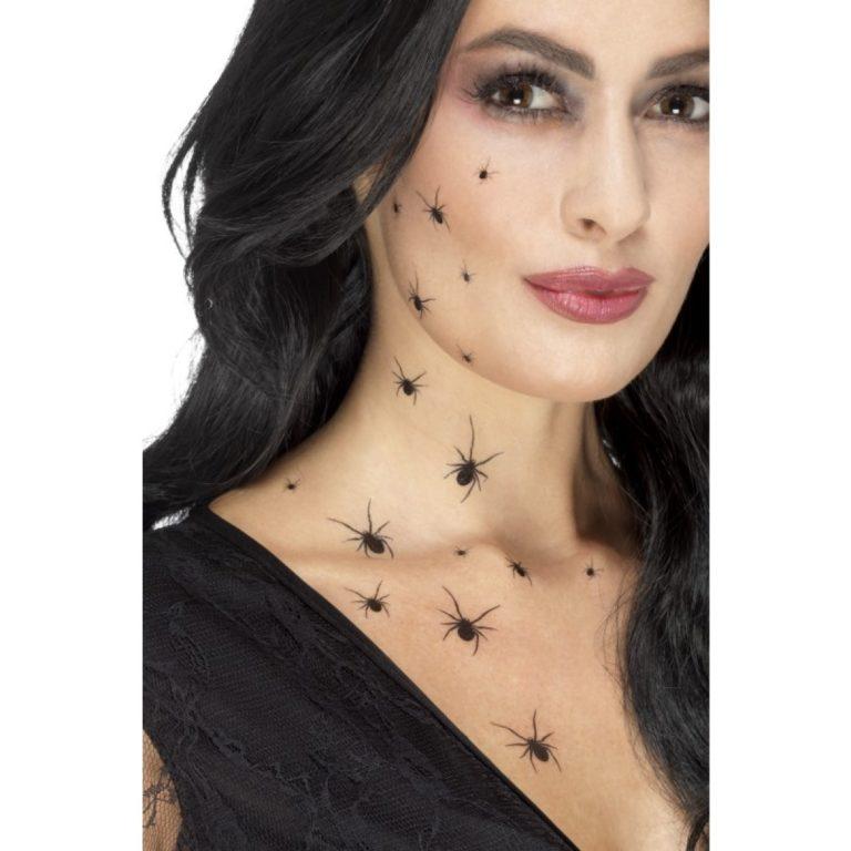 Spider tattoo transfer