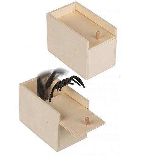 Spin uit kistje