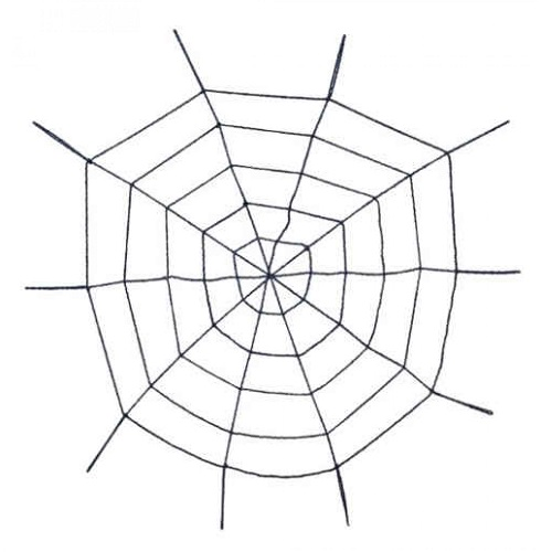 Spinnenweb 100cm