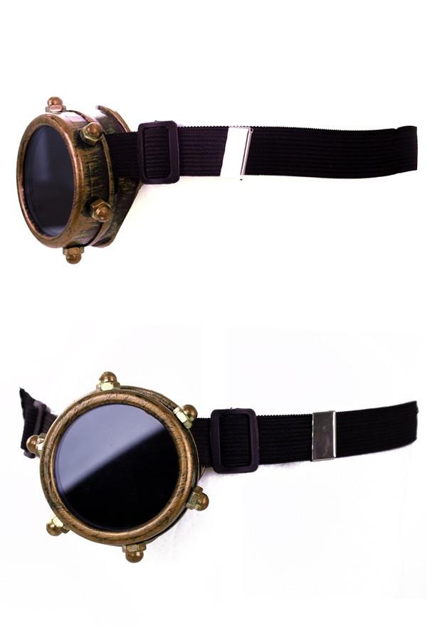 Steampunk bril monocle