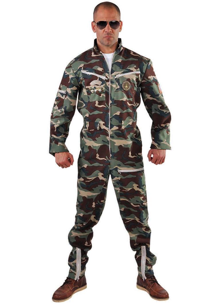 Straaljagerpiloot camouflage - XL