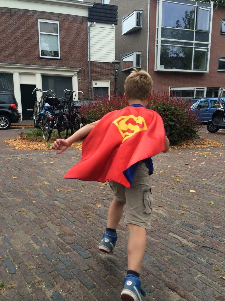 Superman cape rood