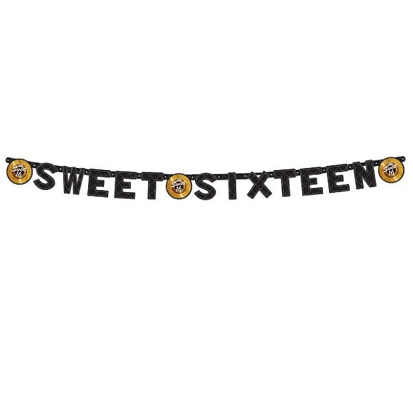 Sweet 16 letterslinger gold