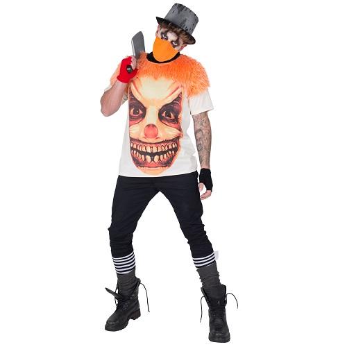 T-shirt Horror Clown one size
