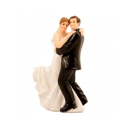 Taarttopper bruidspaar dansend