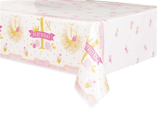 Tafelkleed 1st birthday p&g